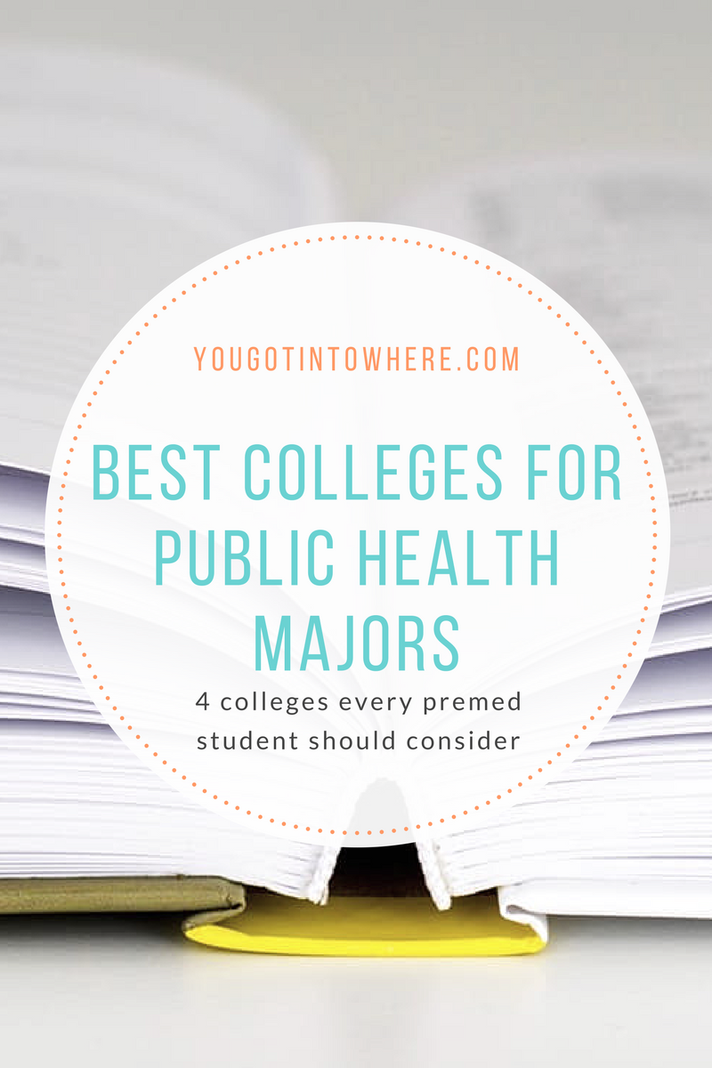 The 5 Best Colleges for the Public Health Major – You Got Into Where?