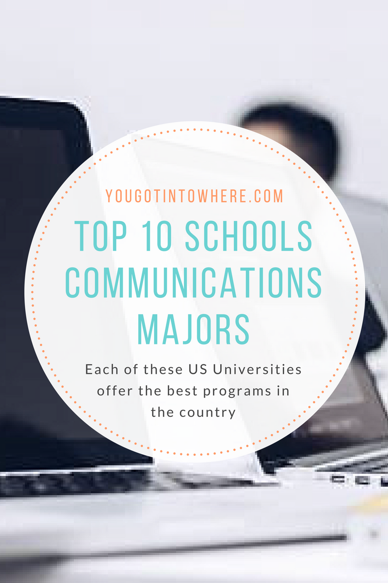 Economics best colleges for communication major